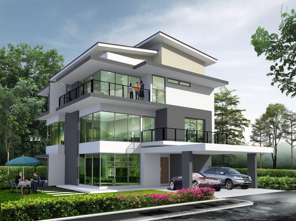 Thiết kế biệt thự 3 tầng hoan thanh-min