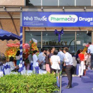 Lễ khánh thành nhà thuốc Pharmacity quận 7 sau khi hoàn thành thi công xây dựng nhà thuốc
