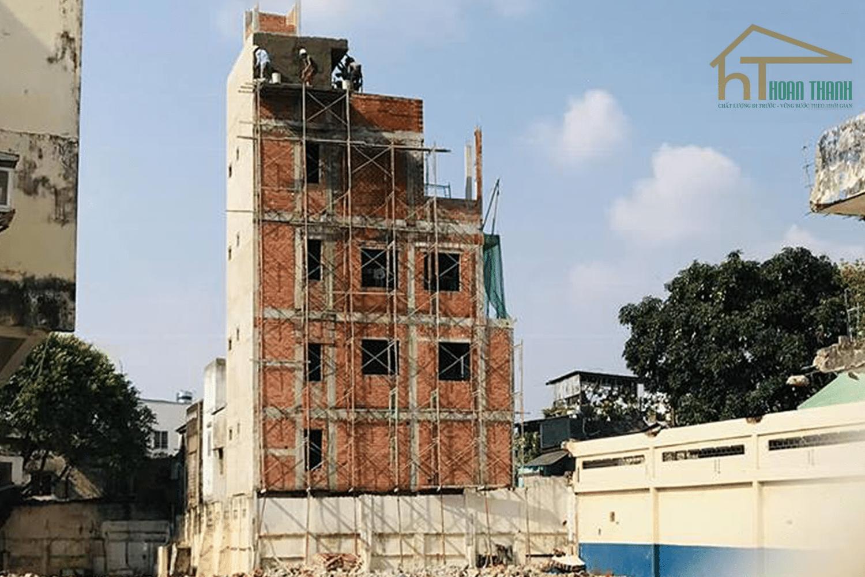 Căn nhà phố sắp hoàn thiện tại Nơ Trang Long quận Bình Thạnh