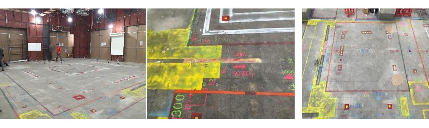 Các bước trong công tác đánh dấu của quy trình thi công chuẩn