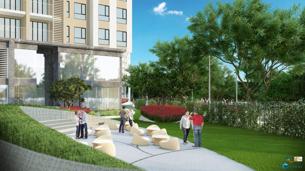 Góc khác nữa của dự án La Astoria