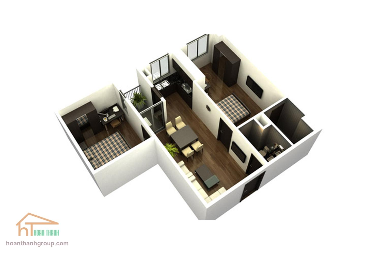 mẫu thiết kế nội thất chung cư quận 7