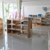 Toàn cảnh tầng dưới của mẫu thi công nội thất trường mẫu giáo
