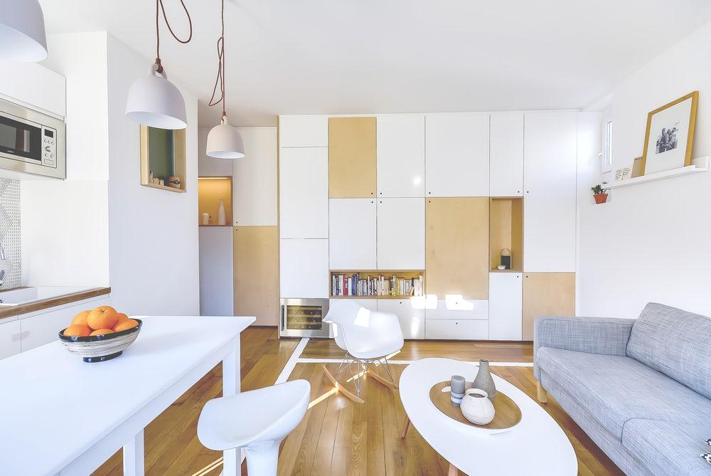 Thiết kế nội thất căn hộ chung cư An Khánh 20 m2 quận 2