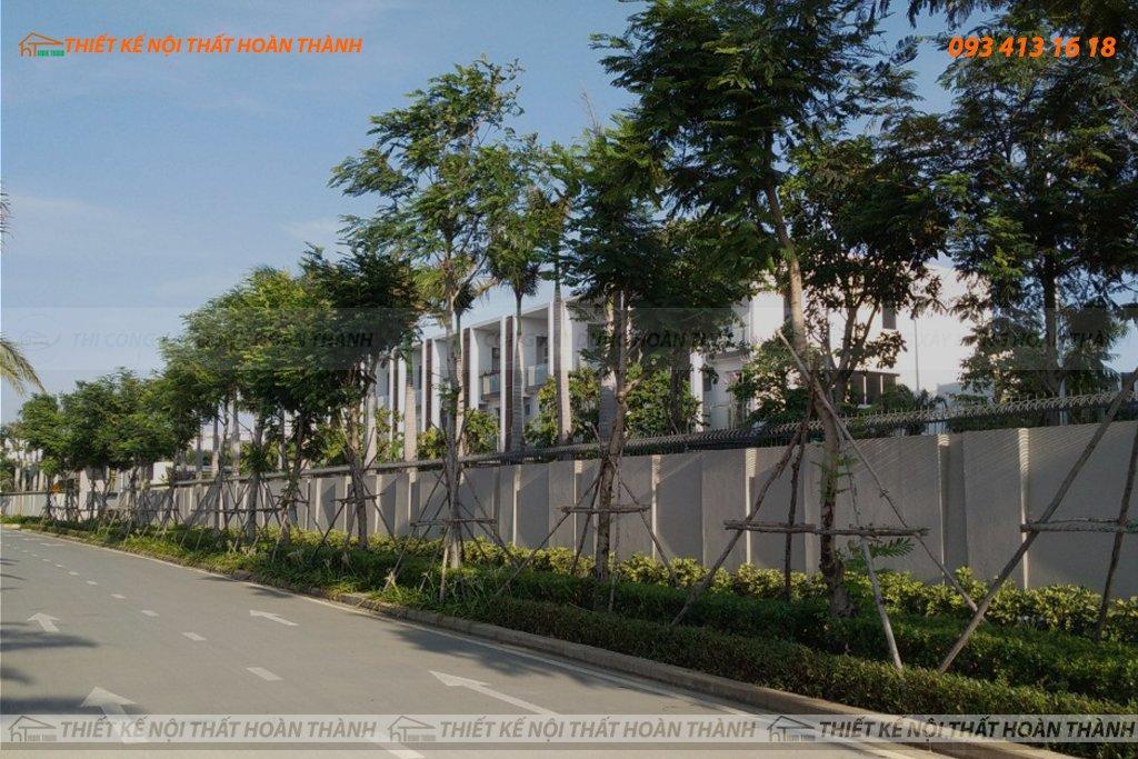 Khu nhà phố cao cấp liền kề của dự án căn hộ Palm City