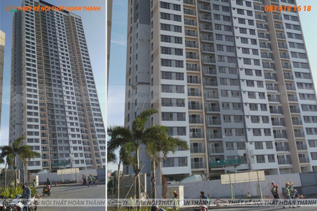 Sơ bộ 2 tầng khu căn hộ cao cấp Palm City