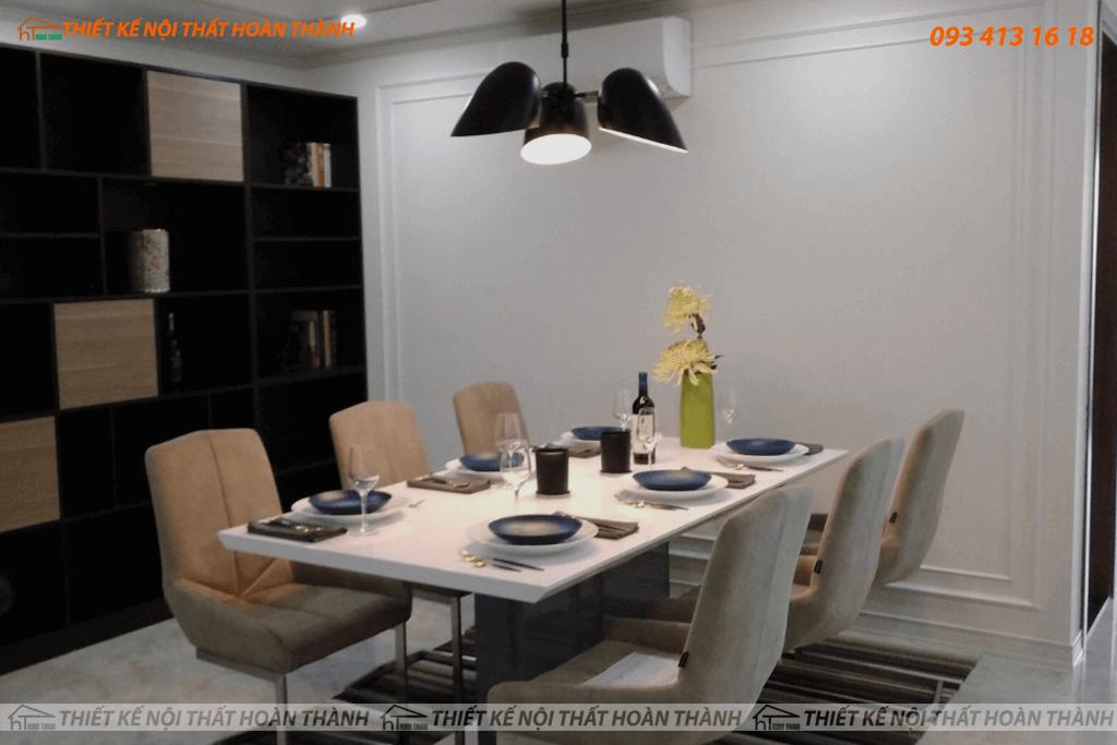 Thiết kế và thi công nội thất căn hộ cao cấp HomyLand quận 2